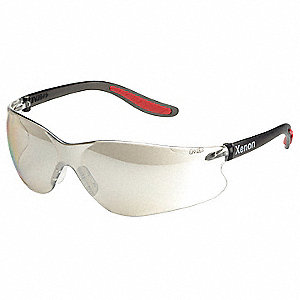 Safety Glasses,Indoor/Outdoor,Hard Coat