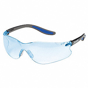 Safety Glasses,Blue,Uncoated