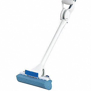 AUTOMATIC MOP AND SCRUB,9-1/4 IN.,R