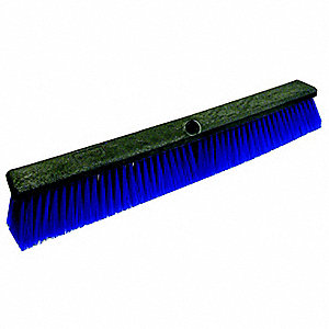 "Push Broom,Poly,24"" Block"