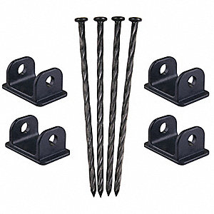 Anchor Spikes,For 13D654,w/Black Adapter