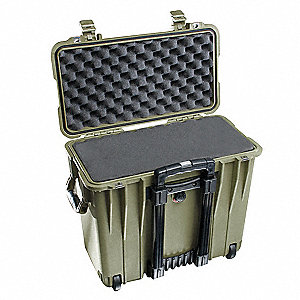 Case,19-45/64 In Lx12 In Wx18 In D,Green