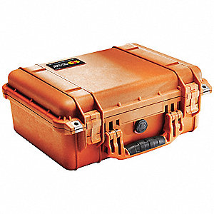 Case,16 In Lx13 In Wx6-7/8 In D,Orange