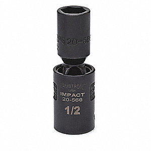IMPACT U-JOINT SOCKET 1/2 DR 1/2IN