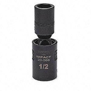 IMPACT U-JOINT SOCKET 1/2 DR 1 6PT