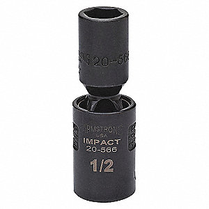 IMPACT SOCKET, 1/2IN DR, 7/8IN, 6PT