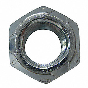 "Grade B Steel Lock Nut with 3/8""-16 Dia./Thread Size&#x3b; PK2500"