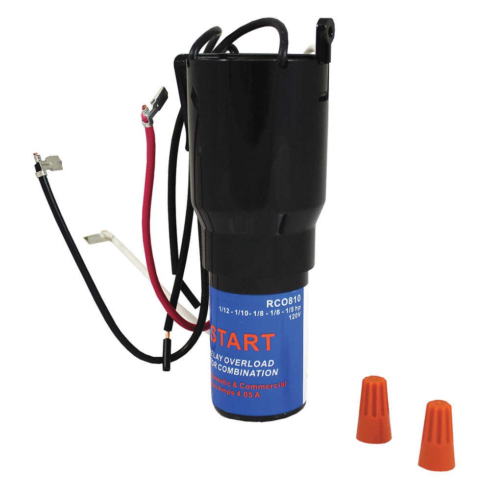 Hard Start Kit, 115V, 1/12 to 1/5 HP