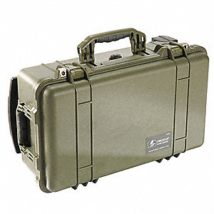 Case,22 In Lx13-13/16 In Wx9 In D,Green