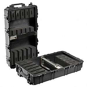 "Case, W/Foam, 44-3/4"" L, 25-3/8"" W, Black"