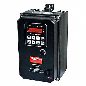 Variable Frequency Drive,1 Max. HP,1 Input Phase AC,120/208-240VAC Input Voltage