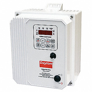 Variable Frequency Drive,3 Max. HP,3 Input Phase AC,208-240VAC Input Voltage