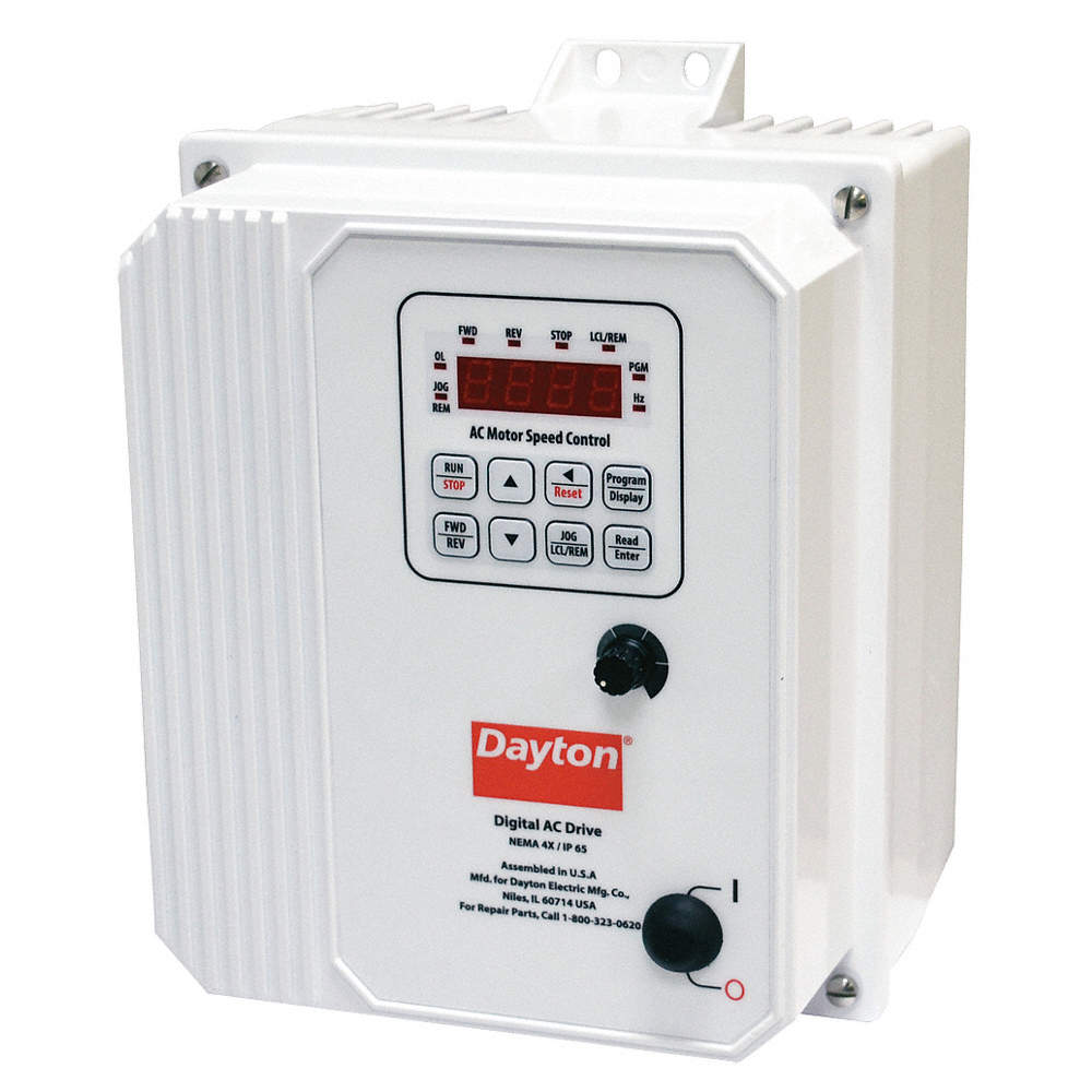 Dayton Variable Frequency Drive3 Max Hp3 Input Phase Ac480vac Drive Electronics Hobby Zoom Out Reset Put Photo At Full Then Double Click