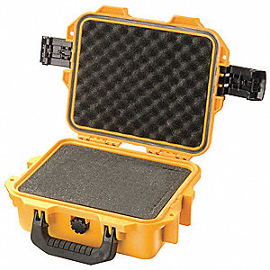 CASE SMALL WITH FOAM YELLOW