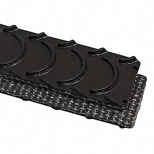 Conveyor Belt,PVC 120 LT,Black,W 12 In