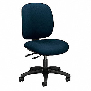 "Desk Chair,Fabric,Mariner,16-20"" Seat Ht"