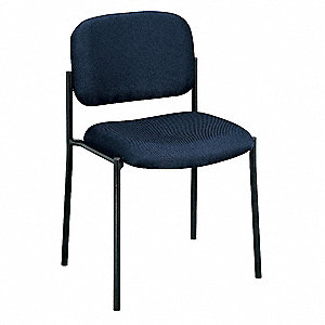 VL606 Guest Chair,Fabric,Navy