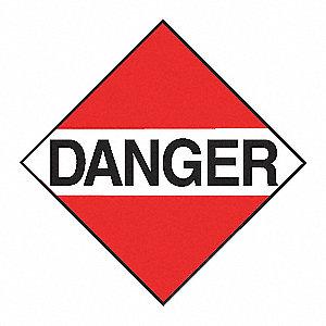 PLACARD TDG STYRENE DANGER 10-3/4IN