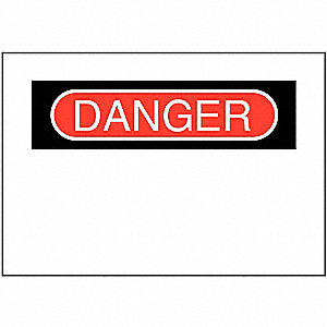 SIGN DANGER