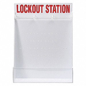LOCK-OUT STATION LARGE