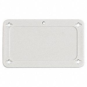 TAG PLASTIC WHITE 3IN X 1.5 IN