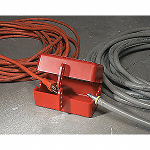 LOCKOUT PLUG PRINZIG LARGE RED