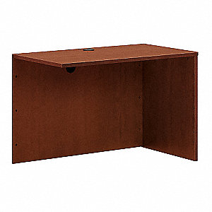 Desk Return Shell,42-1/4x29x24,Med Chrry