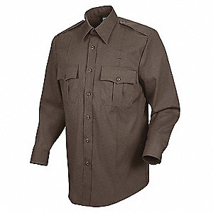 Sentry Plus Shirt, Womens, Brown, XL