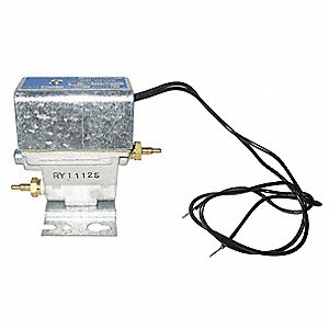 Solenoid Air Valve,3-Way,24VDC,0-25 psi