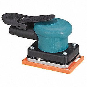 "5-3/4"" Non-Vacuum Air Random Orbital Sander with 3"" Pad Size"