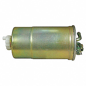 IN-LINE FUEL FILTER WITH DRAIN