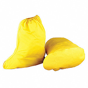 "Boot Covers, Slip Resistant: Yes, Waterproof: Yes, 15"" Height, Size: 2XL, 1 PR"