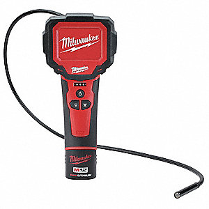 Video Borescope,2.7 In,108 In Shaft