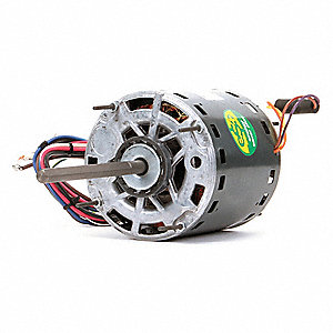 3/4 HP Direct Drive Blower Motor, Permanent Split Capacitor, 1075 Nameplate RPM, 460 Voltage