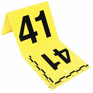 Standard Evidence Tents,41 to 60,Yellow