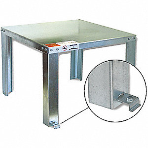 Steel Water Heater Stand, For Use With: Weights up to 1200 lb.