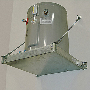 WATER HEATER PLATFORM,WALL MOUNT