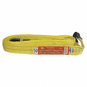 "WEB SLING,YELLOW,POLY,T3,2"" X 16 FT."