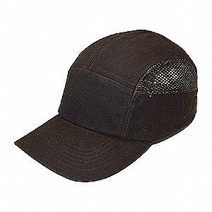 CAP BUMP BASEBALL VENTED BLACK