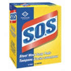 SOS STEEL WOOL PADS COMMERCIAL