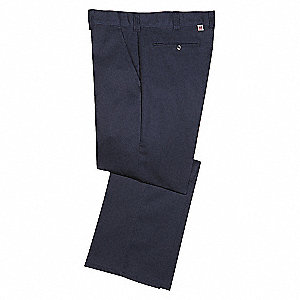 PANTS WORK LOW RISE 65/35 36 33 NAV