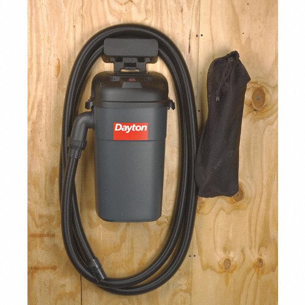 Dayton 5 Gal Wall Mount 5 1 2 Hang Up Wet Dry Vacuum 9 2