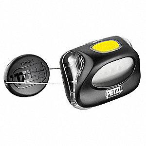 LED, Plastic, 100,000 hr. Lamp Life, Maximum Lumens Output: 20, Black