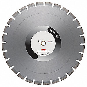 "30"" Wet Diamond Saw Blade, Segmented Rim Type"