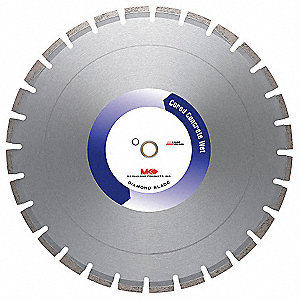 "36"" Wet Diamond Saw Blade, Segmented Rim Type"