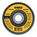 Flap Disc, Dia. 4.5 In, AH 7/8 In, 60 Grit