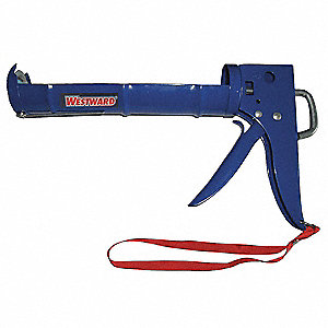 Caulk Gun, Non-Drip, Blue,10 oz.