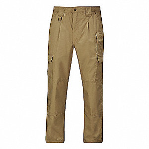 "Men's Tactical Pants, Fits Waist Size: 40"", Inseam: 30"", Coyote"