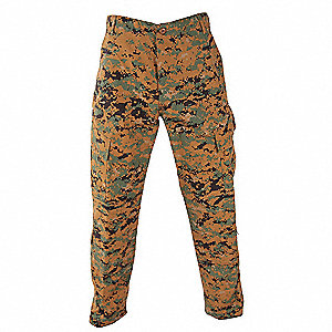 Men's Tactical Pants, Size L, Color: Woodland Digital