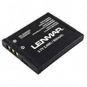 Lithium Ion Camera Battery&#x3b; Replaces Olympus LI-70B